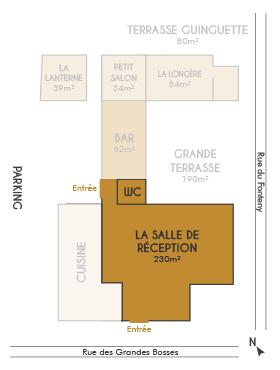 Plan Salle Réception